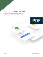 Analise de Sites Através das Plataformas Móveis