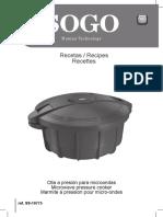 Recetas Olla Express Sogo