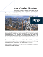 Making the Most of London_ Things to Do