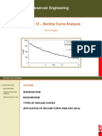 Decline Curve Analysis course