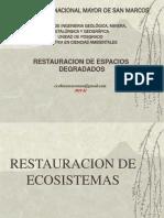 4. Restauración de Ecosistemas