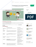 Benefits of choosing LLP over Partnership Firm