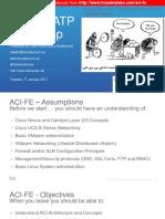 M00 - ACI FE Training Agenda v4.0 CJW