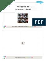 Carnet Recettes Chocolat