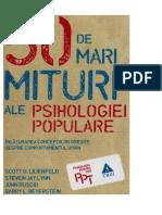 Cele 50 de mari mituri ale psihologiei populare (1).doc