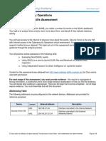 CyberOps Skills Assessment