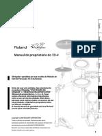 Manual Roland TD4