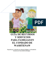 Community Health Resource Guide in Spanish