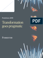 Forrester Predictions 2019