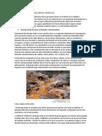 Impactos en Los Recursos Hídricos