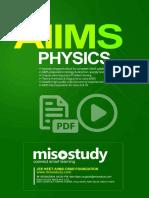 AIIMS Class 11 & 12th PCB Sample eBook