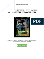 Beginning Arduino Ov7670 Camera Development by Robert Chin