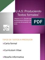 Producción de Textos Formales