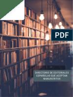 Editoriales para literatura