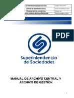 MANUAL ARCHIVO CENTRAL EJEMPLO