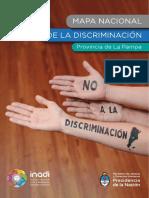 Mapa de La Discriminacion La Pampa