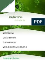 Usutu Virus