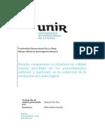 Estudio comparativo en términos de calidad sonora percibida de los procedimientos software y hardware en la reducción de la resolución del audio digital (2019). Manuel Cera Vera