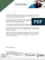 Oportunidades Sectoriales en Quibdó - Chocó