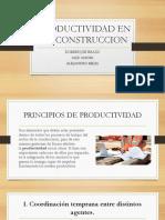 PRODUCTIVIDAD EN LA CONSTRUCCION.pptx