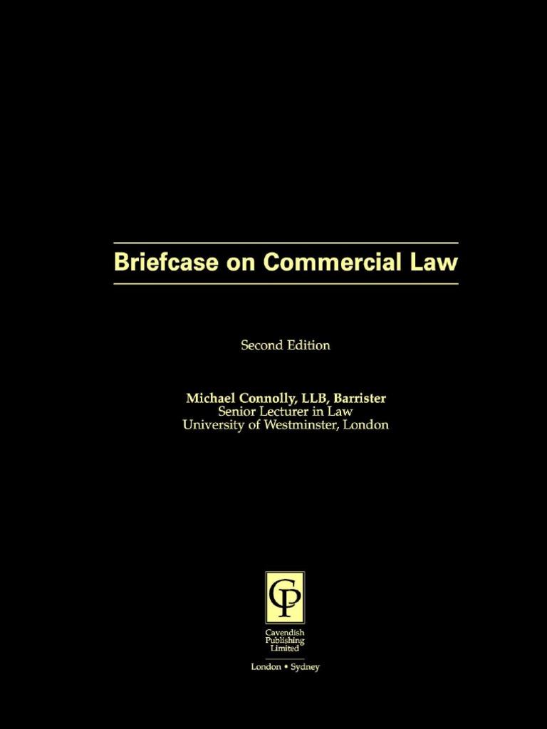 nemo dat quod non habet essay civil law common law s briefcase on commercial law