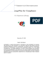 Using Energy Plus for Compliance