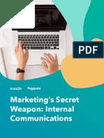 Marketing's Secret Weapon Internal Communications