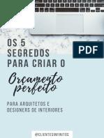 Os 5 segredos para criar o orçamento perfeito.pdf
