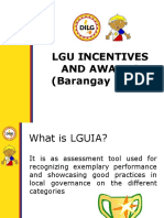Barangay Incentives and Awards