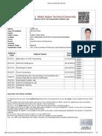 Admit Card 2019-20 Odd-Sem