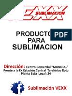 CATALOGO VEXX SUBLIMACION.pdf