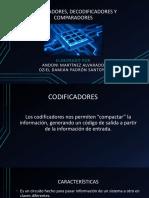 CODIFICADORES, DECODIFICADORES Y COMPARADORES.pptx