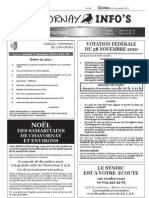 Chavornay Infos 26 novembre 2010