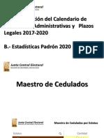 Presentación EstadÃ_sticas Padrón Electoral 2020.pdf