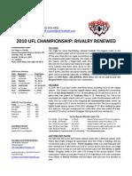 Locos Championship Week Game Notes