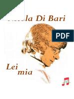 Nicola Di Bari - Lei mia