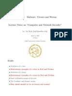 0736 Malware Viruses and Worms