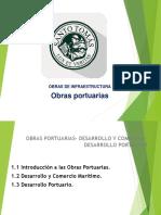 Obras de Infraestructura Clase Obras Portuarias