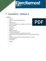 API 4 M4 modelo