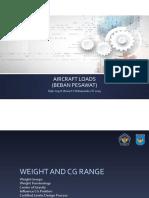Aircraft Load 2019 - 03 Weight and CG Range.pdf
