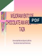 Mejoramiento de chocolate en taza