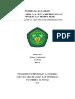 RPP, Bahan Ajar, dan LKPD Bilangan Berpangkat dan Akar.docx