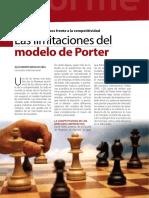 Las limitaciones del modelo de Porter