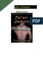 Tiffany Aaron - Fallen  Dominic- Anjos Caidos