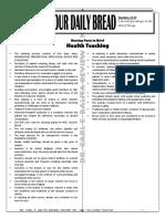 ODB - Health Teaching (NLE) (1)