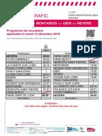 Info Trafic - Paris-nevers Du 10 12 19