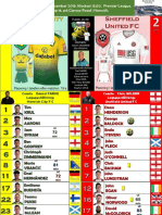 Premier League week 16 191208 15.00 Norwich - Sheffield United 1-2