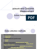 Exposure and Outcome Measurement OM 53