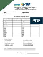 Avaliação Fonologia ABFW