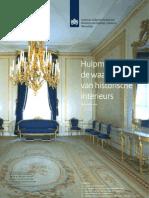 Hulpmiddel bij de waardering van historische interieurs